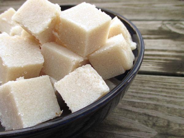 Правильное использование сахарных кубиков