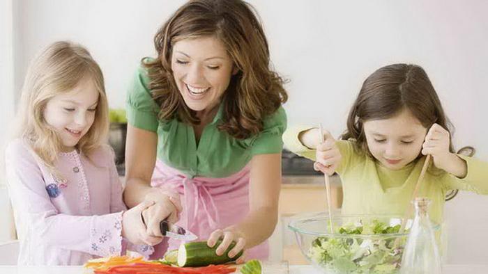 Хорошее питание для всей семье