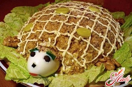 Салат черепаха