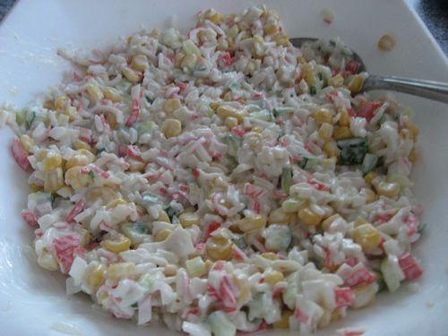 как приготовить крабовый салат рецепт с фото