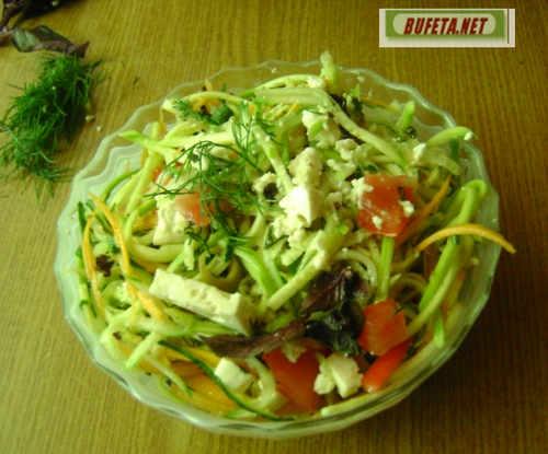 Салат с кабачком рецепт