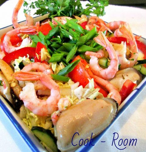 Салат морской бриз