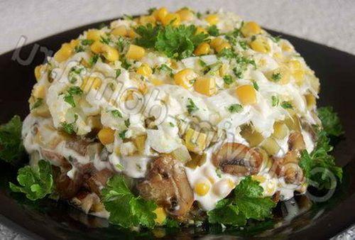 салат ряба с черносливом рецепт с фото
